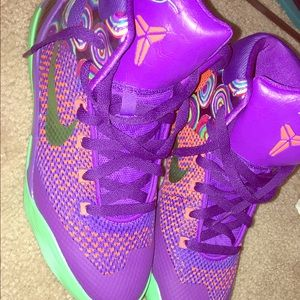 "low priced 6b032 46d72 Nike. Nike Kobe 9 Elite GS ""Purple Venom"""